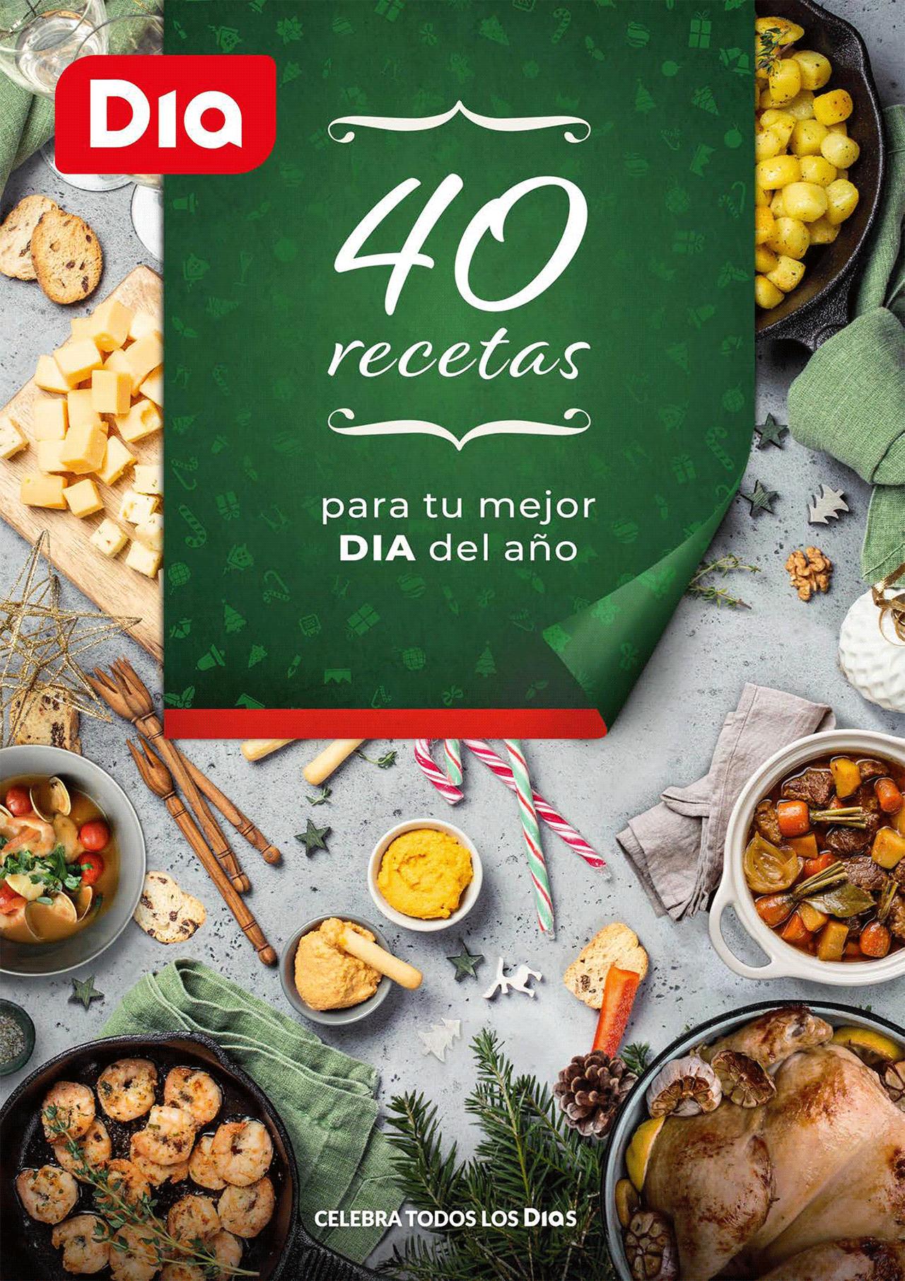 Descarga el Libro Digital 40 Recetas para tu mejor DIA del año.